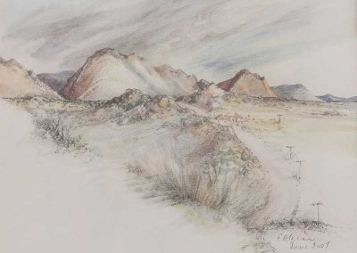 Anne-Karr,-20x18,-R960,-Pencil-and-Watercolor