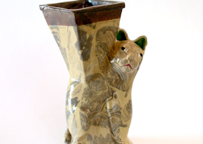 Hylton Nel - Cat Vase - Ceramic R30000