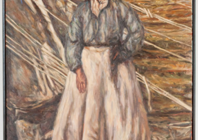 Cobus van Bosch,Irene Concentration camp, Anglo Boer War 1899-1902, Oil on Canvas, 2014, R27 500, 79x104