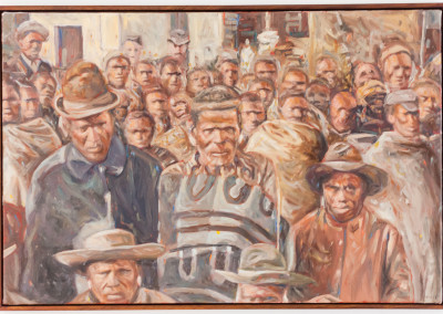Cobus van Bosch,Pondo Chiefs at Bizana 1897, Oil on Canvas, 2013, R20 000, 78x53
