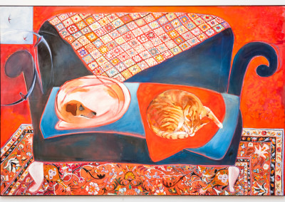 Judy Bumstead, The Red Room, Oil on Canvas, R12600, 140x93