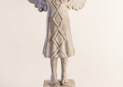 Marieke Prinsloo, Girl With Wings, Concrete fondu and steel, R4750