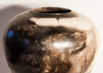 Trevor Rizzato, Large B_W,Smoked Fired Ceramic,R3950