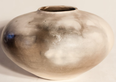 Trevor Rizzato, Meduim Pot,Smoked Fired Ceramic,R1575