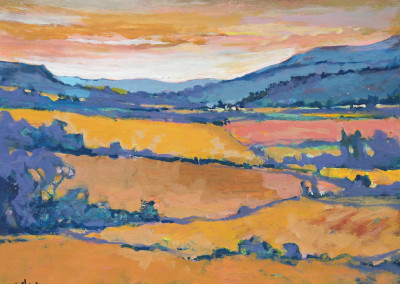 Bill Strapp - SOLD Landscape II - 355x455 Acrylic on Canvas R1575