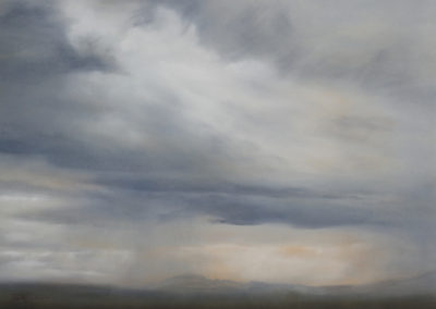 Janet Dirksen - White Noise - 750x1000 Oil on Canvas R8400