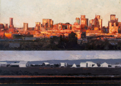 Ben Coutouvidis - Johannesburg - Oil on Canvas, 600 x 750mm, R18 900