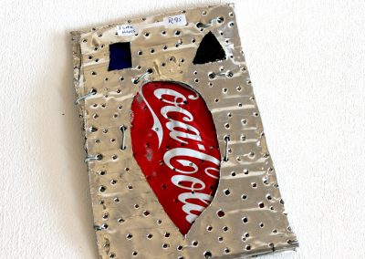 Single Sign Coke & Glass II 200 x1 30mm - R95